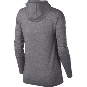 Nike Element LS Shirt Women gunsmoke/heather
